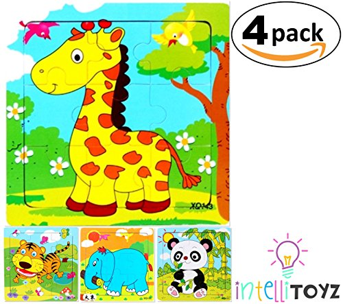 Fun Wooden Colorful Puzzle Jigsaw - 9