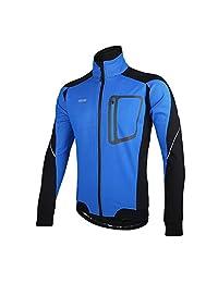 Full Zip Cycling Jacket Windproof Breathable Warm Thermal Waterproof Long Sleeve Coat MTB Biking Jacket Outfit Red