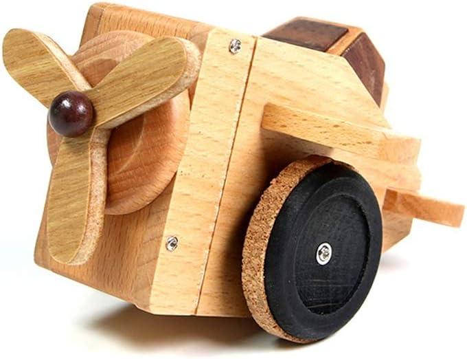 SDADHFRGE Octava de Madera Caja de música Caja para la niña ...