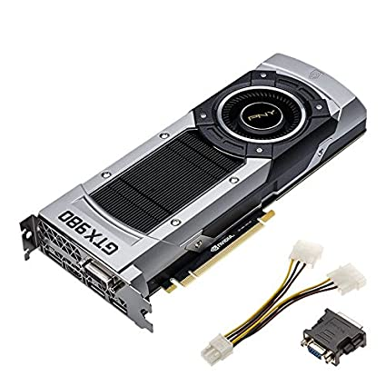 Amazon.com: PNY GeForce GTX 980 4GB XLR8 OC EDITION Graphics Card: Computers & Accessories