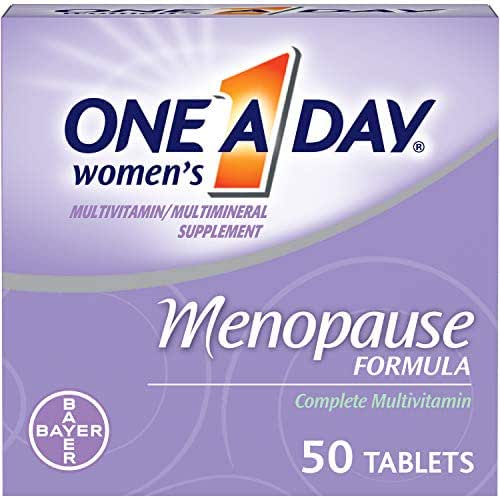 One A Day Women's Menopause formula Multivitamin, 50-tablet Bottle