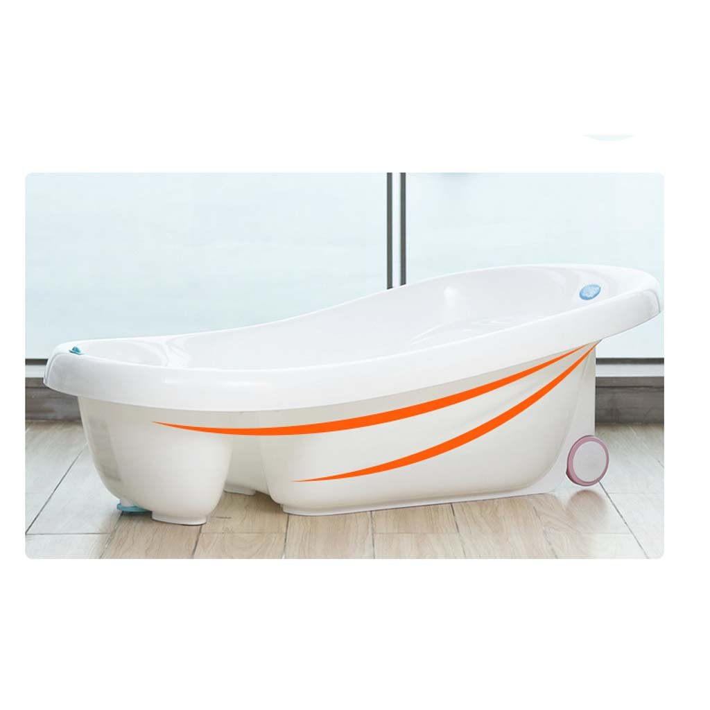 Baby Tub - Baby Bath Tub Can Sit Lie Children Bucket Baby Newborn Toiletries Give More Space As The Child Grows To Care For Your Kid's Health by Bathing Tubs (Image #2)