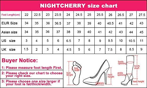 Basso Donna Con Night Moda Cherry Scarpe Apricot Tacco pHxI4Rq