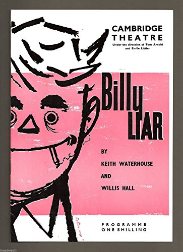 "Albert Finney ""BILLY Teller of tales"" Ethel Griffies / Mona Washbourne 1961 London Playbill"