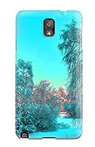 Hot New Cerulean Winter Case Cover For Galaxy Note 3 With Perfect Design