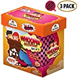 "Whoopee Cushion Self Inflated 7"" Set of 3 Gift Box Fart Prank Gag Novelty Trick Joke Toy for Kids Children Adults Office Home or Party"