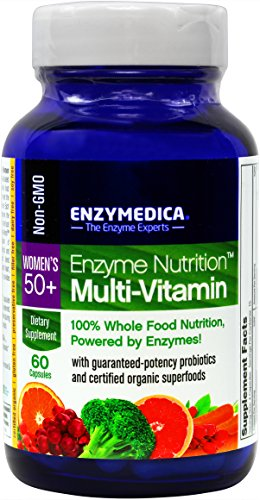 Enzyme Nutrition - Women's 50+ Multi-Vitamin, 100% Whole Food Nutrition, 60 Capsules (FFP)