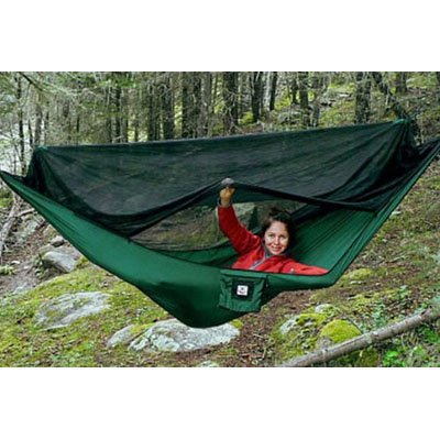 """Hammock Bliss No-See-Um No More - The Ultimate Bug Free Hammock - 100"""" Rope Per Side Included"""