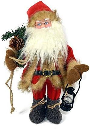 Babbo Natale 40 Cm.2esse Babbo Natale Pupazzo Animato Con Suono E Movimento Da 40 Cm Amazon It Casa E Cucina