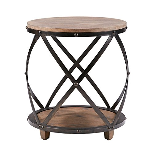 Ash Round End Table - 2