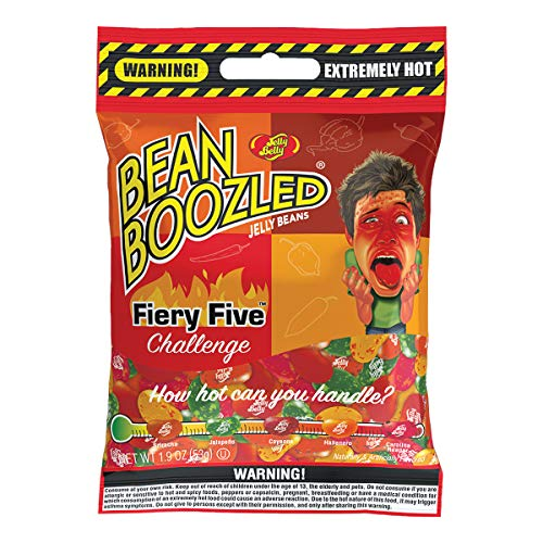 Jelly Belly BeanBoozled Fiery Five Bag - 1.9 oz - Genuine, Official, Straight from the Source