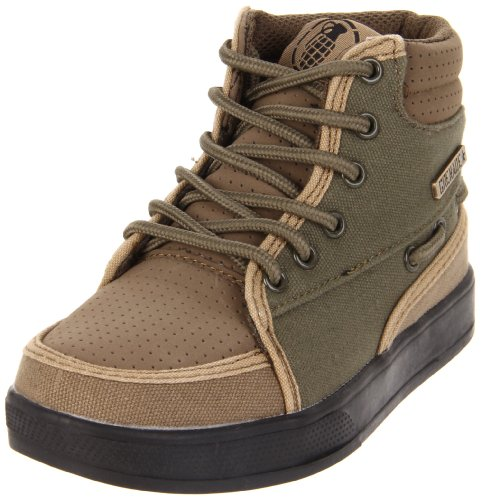 Grenade Standard Isshoe Lace-Up Sneaker (Little Kid/Big Kid) - stylishcombatboots.com