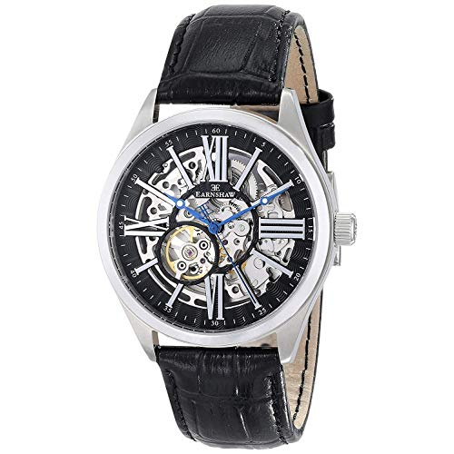 (Thomas Earnshaw Men's ES-8037-01 Armagh Analog Display Automatic Self Wind Black Watch)
