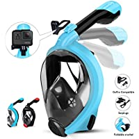 HENGBIRD Snorkel Mask with Detachable Camera Mount