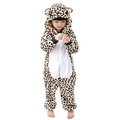 Unisex Children Animal Pajamas One-Piece Cosplay Sleepwear Onesies Pajamas Nightwear (7-9 Years, -