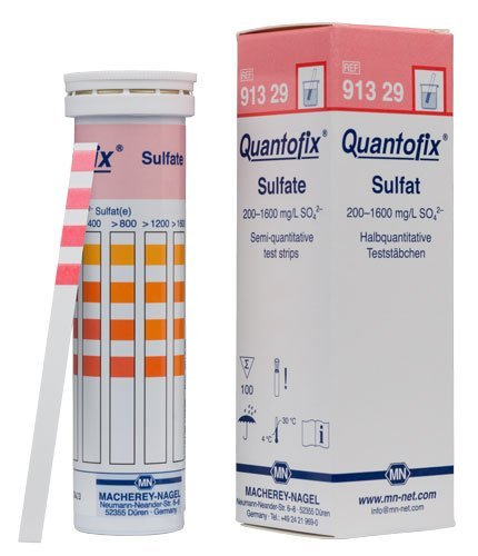 Macherey-Nagel, 91329, Quantofix Sulfate, Box Of 100 Strips by Macherey-Nagel