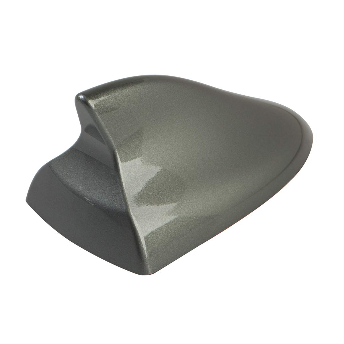 Focus 3 4 Auto Parts Modified Replacement Accessories Focus-RS mk3 and Focus-ST. Kuga Ramble- Luxurious Shark Fin Antenna Covers Car Radio Aerials Cover Explorer Advanced Style, Gray for Ford Everest