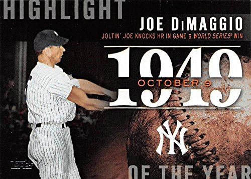 2015 Topps Highlight of the Year #H-41 Joe DiMaggio Yankees Baseball Card NM-MT ()