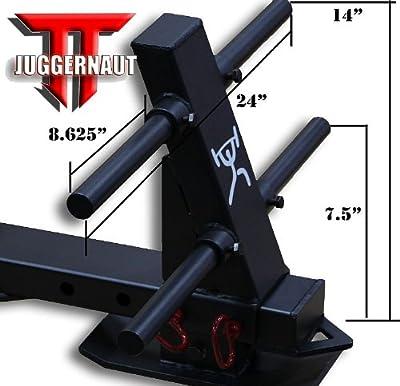 """The JUGGERNAUT"" CFF ""Pro Series Elite"" Heavy Duty Push/Pull Sled w/a 1650 lb Capacity & Adjustable Slide Arm - Great for cross training, MMA, Boxing"