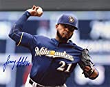 Jeremy Jeffers Milwaukee Brewers Signed Autographed 8x10 Photo W/coa - Autographed MLB Photos