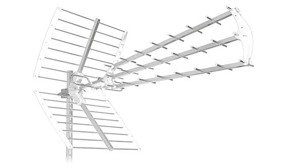 New. Antena 45 elementos SH45/tu-b para Digital Terrestre/Mediaset ...