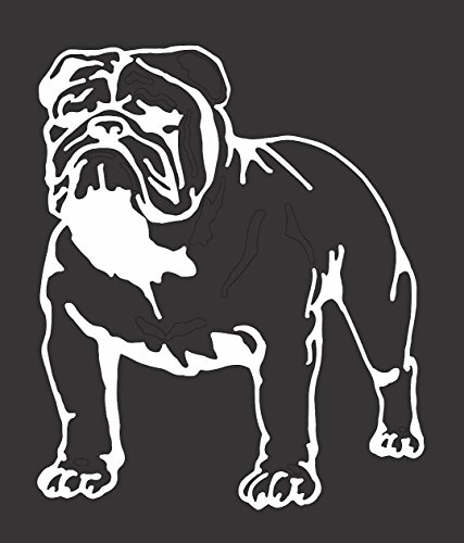 Barking Sand Designs Bulldog - Die Cut Vinyl Window Decal/Sticker for Car/Truck 5