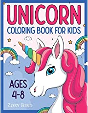 Unicorn Coloring Book for Kids: Coloring Activity for Ages 4 – 8