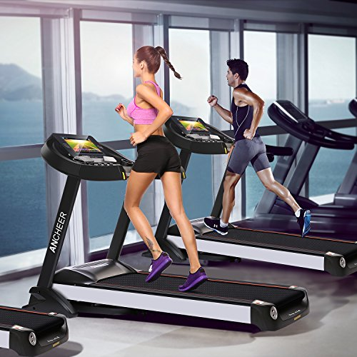 Ziema home gym treadmill inch wifi color touch