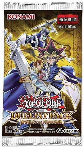 Yu-Gi-Oh! 14011-S Duelist Rivals Of The Pharaoh Booster Packet Toy by Yu-Gi-Oh!