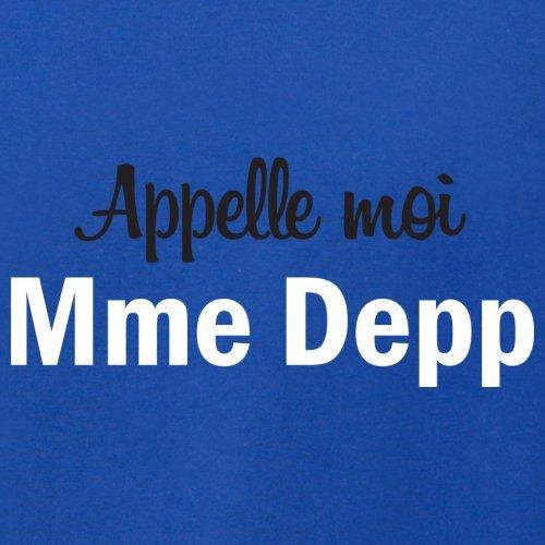 Apelle Moi Madame Depp - Femme T-Shirt - Bleu Royal - XL