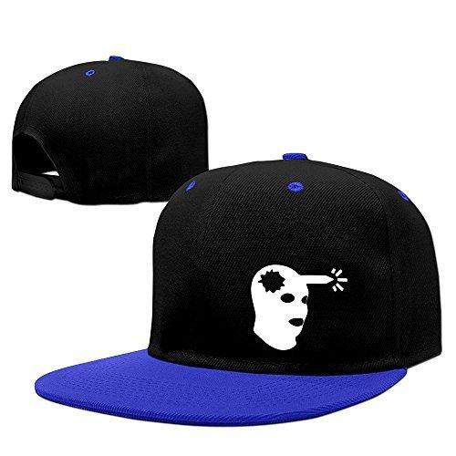 CSGO Boom Headshot Logo Snapback Hip Hop Baseball Cap RoyalBlue