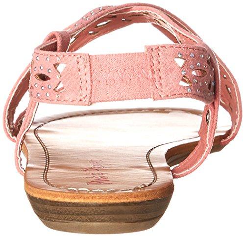 Pink & Pepper Women's Millie Wedge Sandal Coral ayvJ02l30c