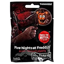 Five Nights At Freddy's mini flight Rights Keeling blind bag 1 pack (lighted key chain 1 piece) / FIVE NIGHTS AT FREDDY'S KEYCHAIN ??MINI FRIGHTLIGHTS [parallel import goods] overseas game figure