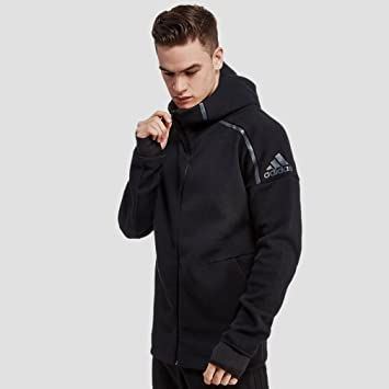 adidas ZNE HOODY Sweatshirt pour Homme, Noir XS, Taille: XS