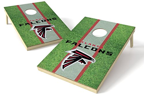 Wild Sports NFL Atlanta Falcons 2' x 3' Field Cornhole Game Set