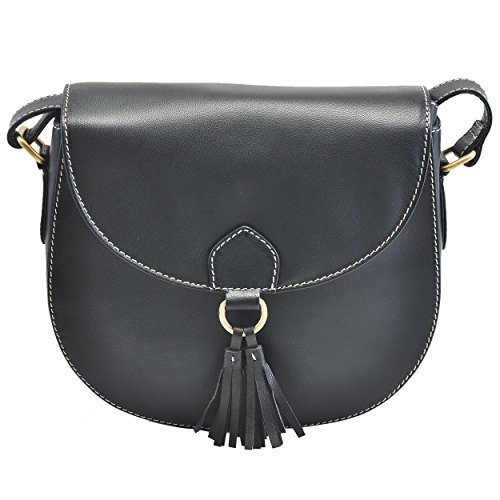 Handmade Leather Saddle Bag Cross Body Purse With Adjustable Shoulder Strap For (Saddle Flap Handbag)