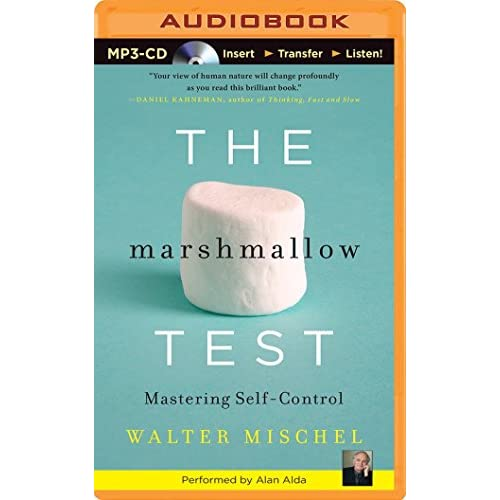 The Marshmallow Test: Mastering Self-Control (MP3 CD)