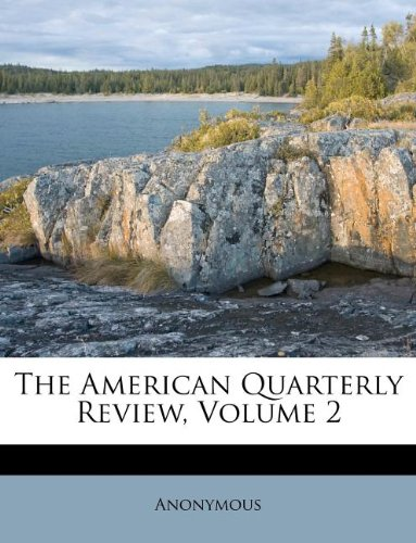 Download The American Quarterly Review, Volume 2 ebook