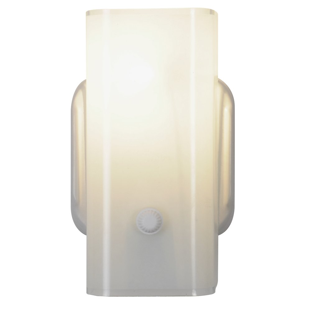 Royal Cove 671418 White Wall Light Fixture, 7-1/2 In.