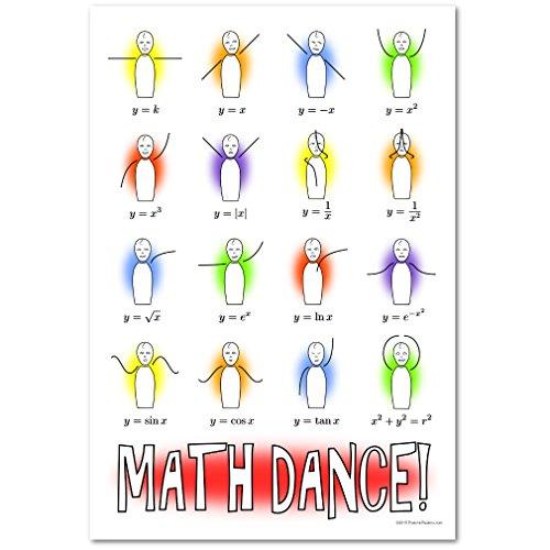 Math Dance! Poster