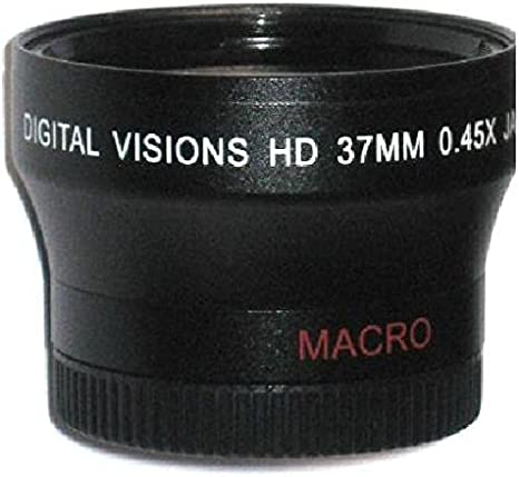 Lens Macro Optics Nc Sony HDR-CX550V 10x High Definition 2 Element Close-Up 37mm