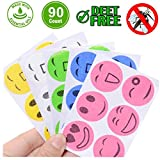 SEALEN Mosquito Repellent Patches 90 Counts Natural Mosquito Stickers for Kids Children Adults Keeps Insects and Bugs Far Away for Home Camping Travel and Outdoors (90)