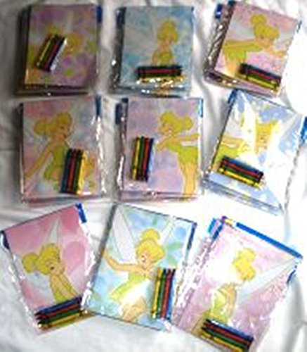 Tinkerbell Crayons - Tinkerbell Coloring Book and Crayons