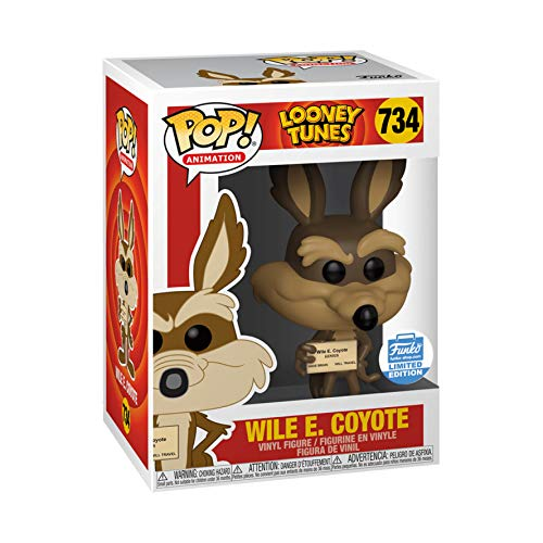 Funko POP! Animation Looney Tunes Wile E Coyote #734 Exclusive [Sold Out]