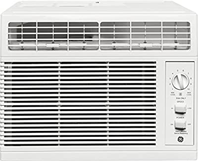 """GE AHV05LW 17"""" Window Air Conditioner with 5,050 BTU Cooling Capacity in White"""