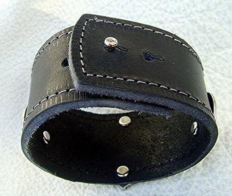 Leder Hals Kette aus eigener Produktion mit Tors Hammer Farbe schwarz Neu