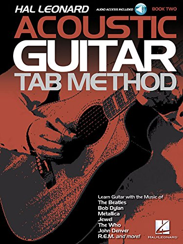 Hal Leonard Acoustic Guitar Tab Method Book/Audio 2 ()