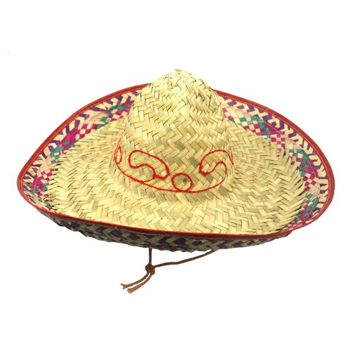 Embroidered Sombrero, Colors May Vary (Glaze United China)