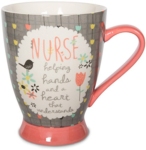 Pavilion Gift Company 74038 Nurse Ceramic Mug, 18 oz, Multicolored