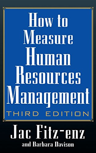 how-to-measure-human-resource-management-3rd-edition